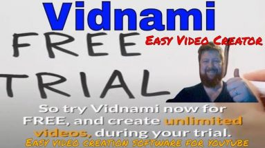 Vidnami Easy Video Creator / Video Creation /video creation software for youtube