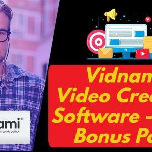 Vidnami Launches Webcam Recording Feature | Special Bonus Bundle | 40% Lifetime Discount Save $1,406
