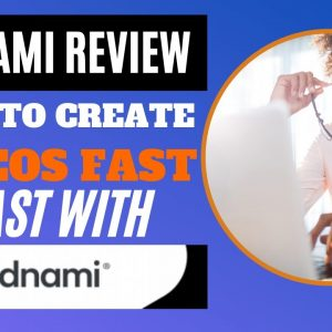 Vidnami Review: How To Make Videos Fast With Vidnami (Step By Step Video editing software tutorial)