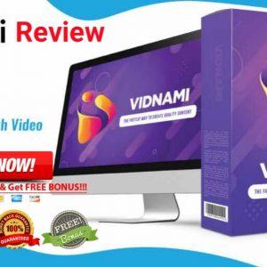 Vidnami  Review & Demo -🛑#Vidnami 14 Day Free Trial +25% Special OFF🛑🎁(100 +Premium Bonus Package) 🎁