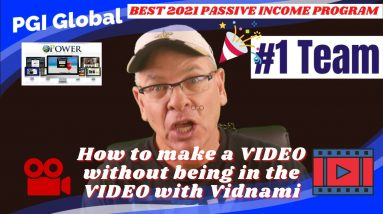 🏆✅🎯How to Make a Video Without Being in the Video with Vidnami