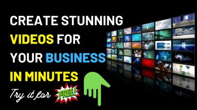 How to Create stunning videos for your business in minutes #Vidnami