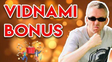 Vidnami Bonus - Access The Best Vidnami Bonus Deal 💪
