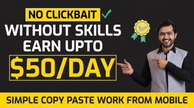 Earn $50/Day Without Any Skill | Simple Copy Paste Work 🔥Invideo